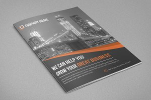 Corporate Bifold Brochure New