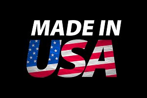Vector Made in the USA logo