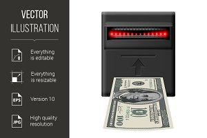 Inserting money