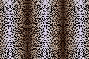 5 leopard seamless patterns