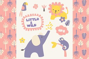 Little & Wild - vector