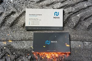 nova business card