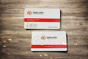 square meter business card