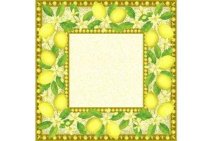 4 Lemon Frames