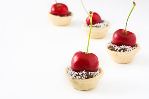 Delicious chocolate tartlets