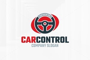 Car Control Logo Template