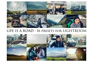 Life is a Road- 16 presets for Lr