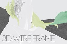 3D WIRE FRAME RENDERS SET-A