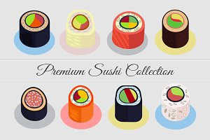 Premium Sushi Collection