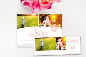 Spring Mini Session Marketing