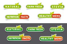 Nutrition facts, Natural labels