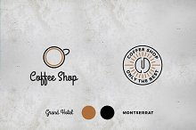 Coffee Shop Logos Two Pack
