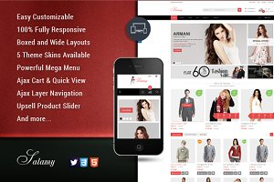SM Salamy - Fashion Magento Theme