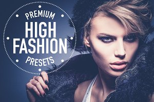 High Fashion Lightroom Preset Pack