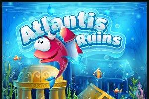 Atlantis ruins GUI pack