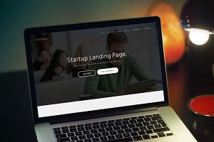 Branded - Startup Landing Page