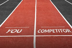 Run Track with You and Competitor