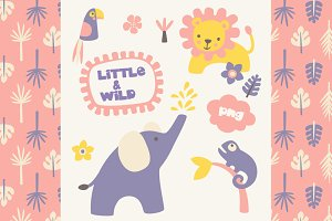 Little & Wild - PNG