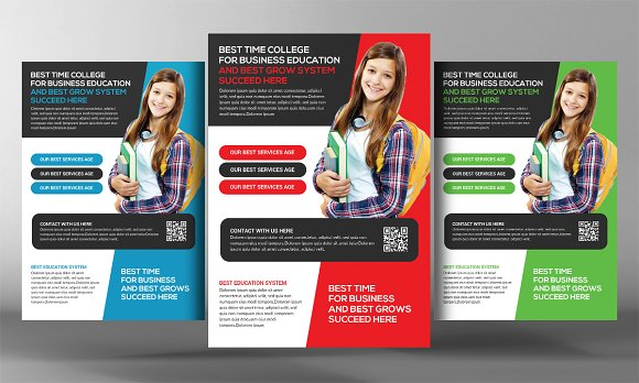 School Flyer Template Images Template Design Free Download