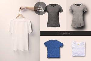 5 Realistic Shirt Mockups