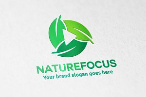 Nature Focus camera Logo