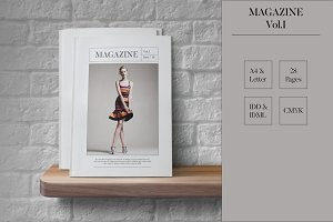 Magazine Template Indesign Vol.I