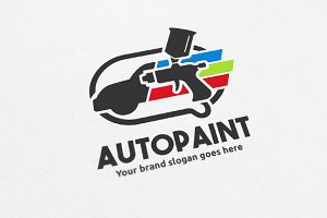 Car Paint Logo