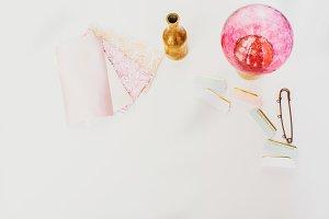 Blush fabric samples I Styled Stock