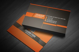Tangerine Studio business card