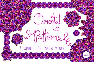 Oriental Patterns - Color Palette 5