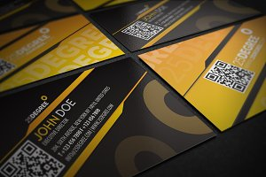 25 degree Business card design