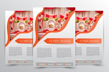 Flyer design. Brochure template.