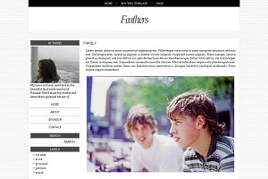 Feathers - Blogger template