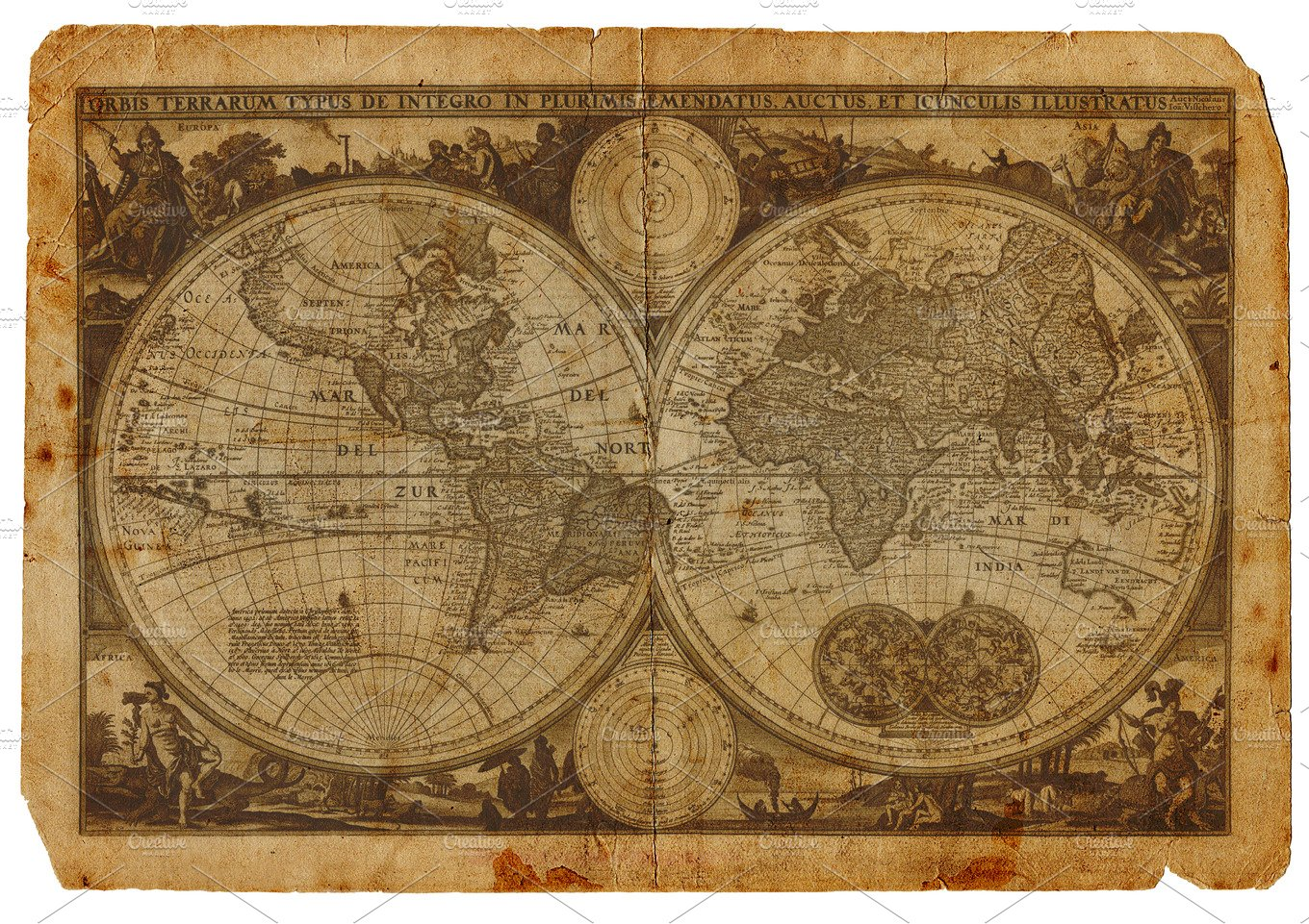 Vintage world map transportation photos creative market gumiabroncs Gallery