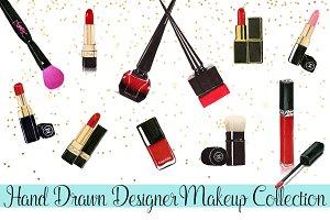 Hand Drawn Designer Makeup Art
