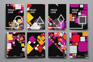 Abstract Brochures