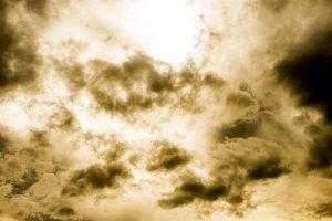 Rainy cloud background