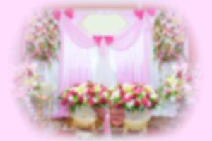 Blur background wedding