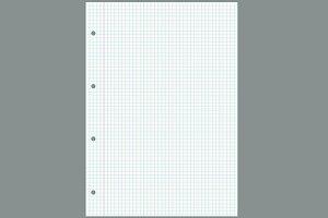 Notebook gridded sheet background