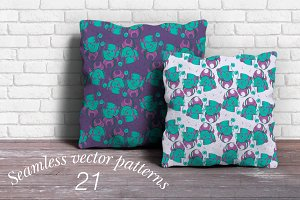 21 seamless vector patterns