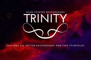 Trinity Space Vector Backgrounds