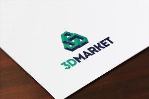 3D Market logo