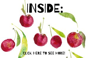 31 ISOLATED FRUIT CLIP ART