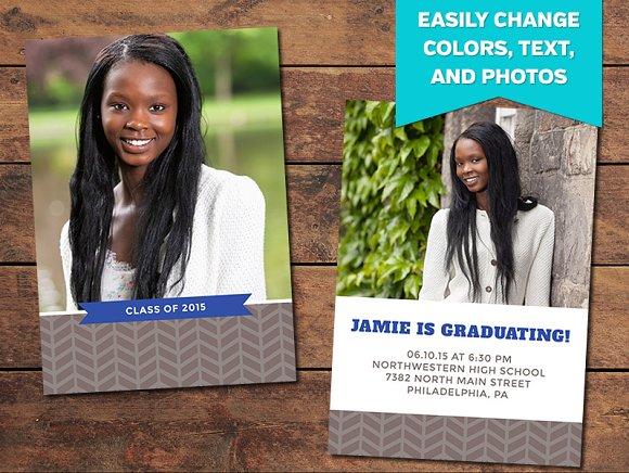 Inspire Graduation Announcement