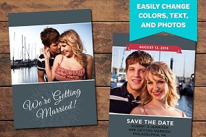 Always Save the Date Template