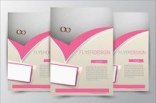 Flyer template. Brochure design.