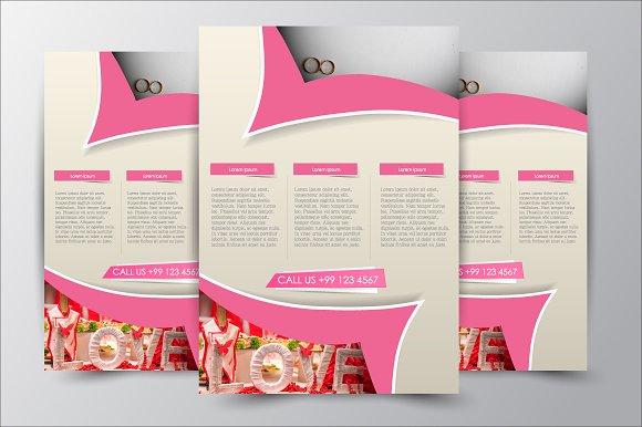 Flyer template. Brochure design. - Flyers