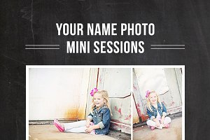 Mini Session Design Template