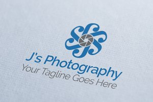 J's Photography Logo Template
