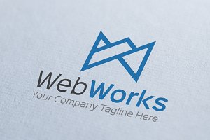 Web Works Logo Template